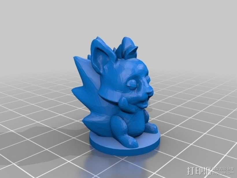 桌游《争吵的小松鼠》模型 3D模型  图4