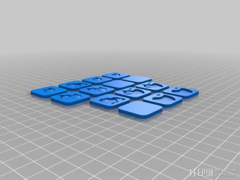 桌游《争吵的小松鼠》模型 3D模型  图8