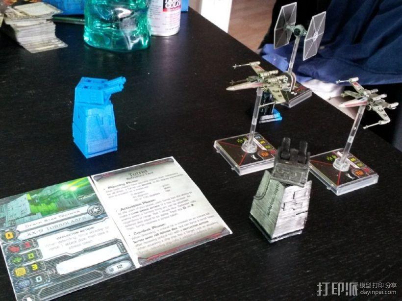 星球大战:XX-9炮塔 3D模型  图1