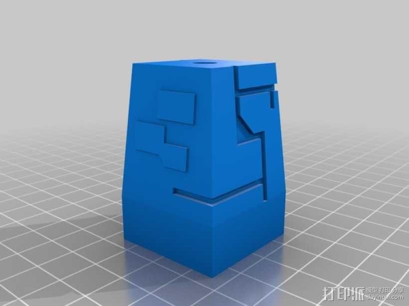 星球大战:XX-9炮塔 3D模型  图2