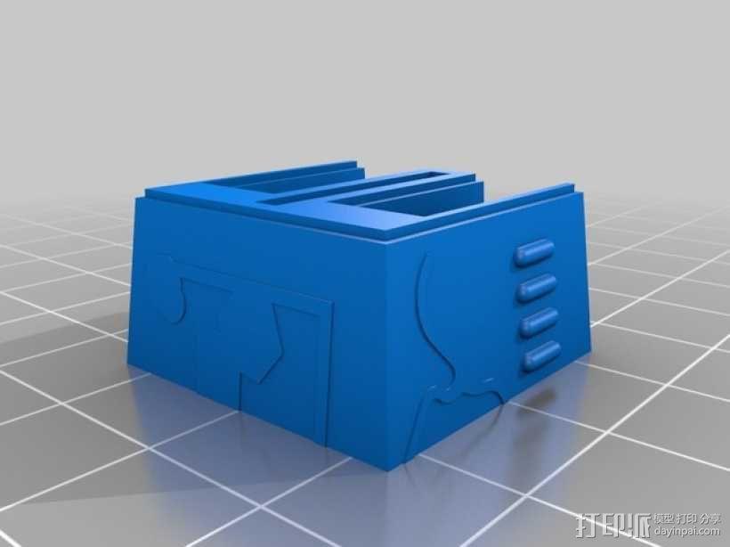 星球大战:XX-9炮塔 3D模型  图3