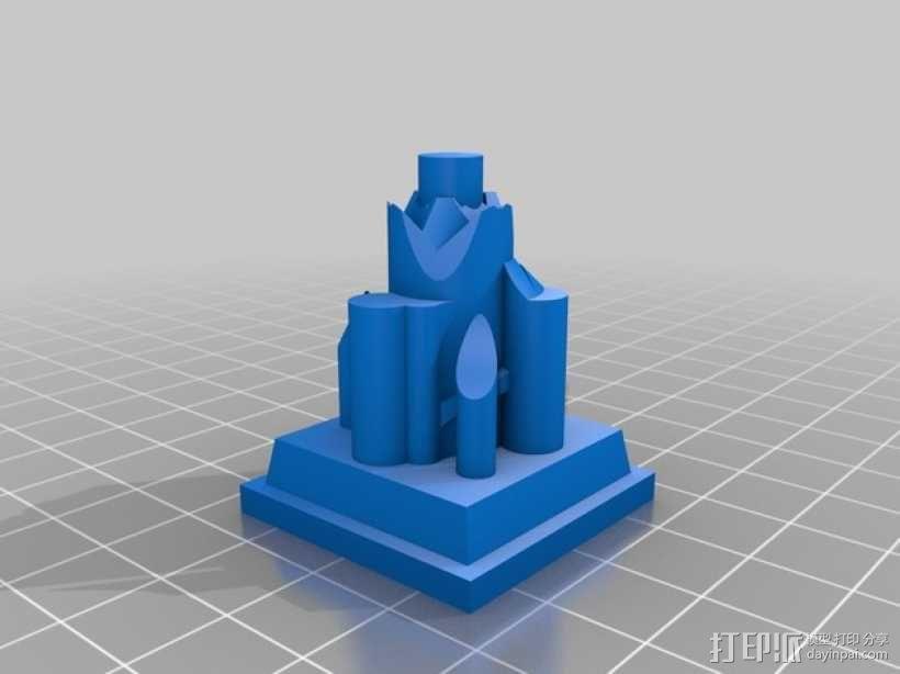 星球大战:XX-9炮塔 3D模型  图6