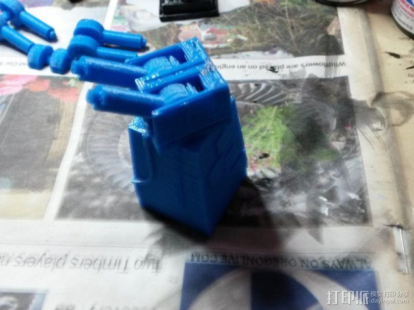 星球大战:XX-9炮塔 3D模型  图9
