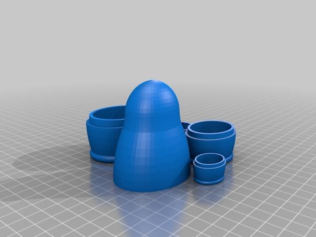 套娃模型 3D模型  图2