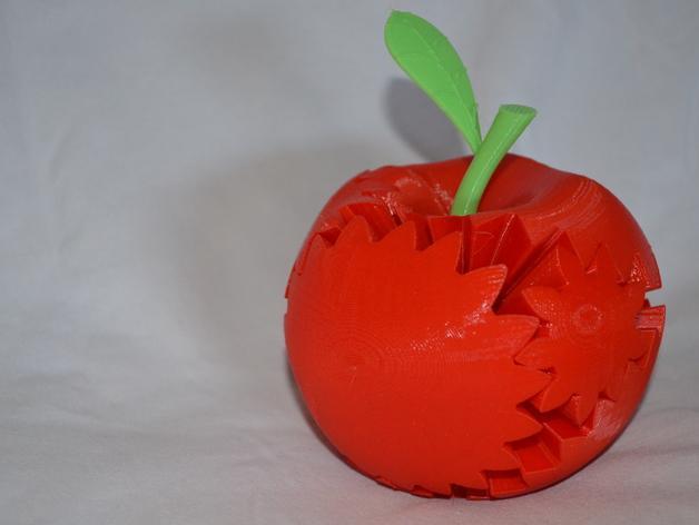 苹果形齿轮 3D模型  图1