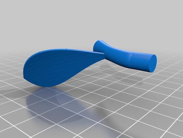 苹果形齿轮 3D模型  图3