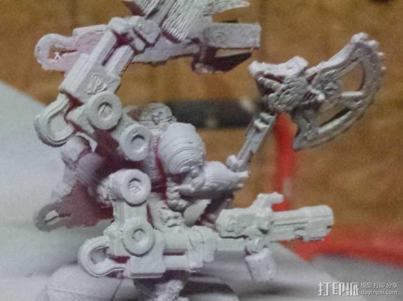 技艺精湛的星际战士 3D模型  图1