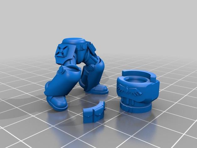 技艺精湛的星际战士 3D模型  图4