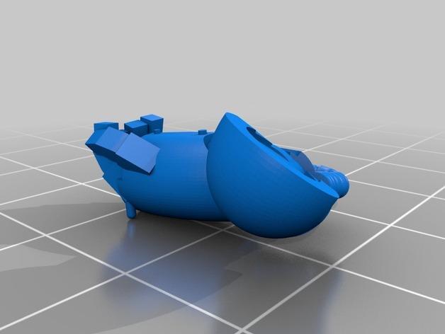 技艺精湛的星际战士 3D模型  图6