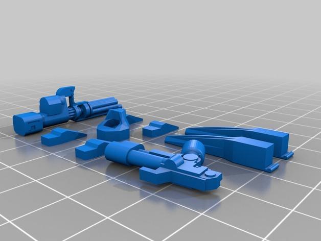 技艺精湛的星际战士 3D模型  图7