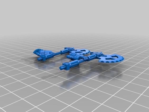 技艺精湛的星际战士 3D模型  图8