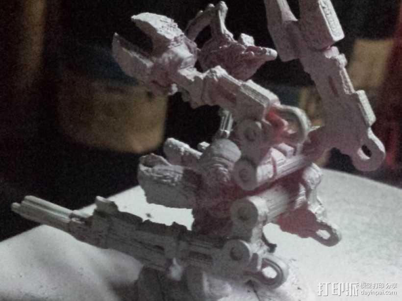 技艺精湛的星际战士 3D模型  图13