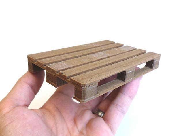 3D打印木质托盘模型 3D模型  图5