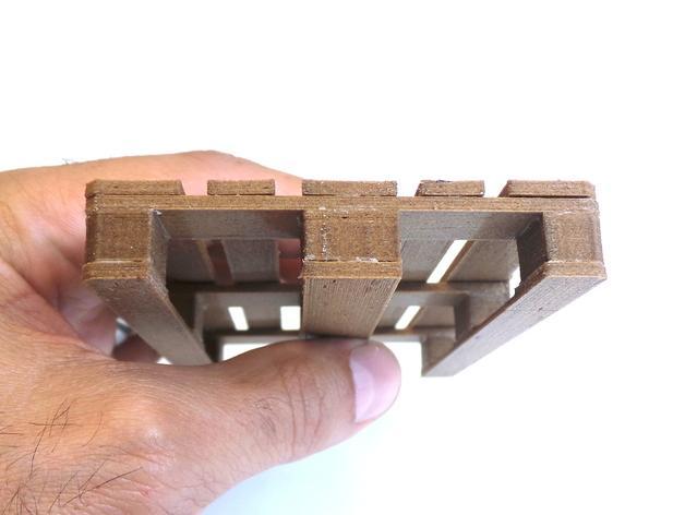 3D打印木质托盘模型 3D模型  图7