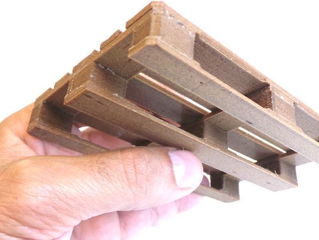 3D打印木质托盘模型 3D模型  图8