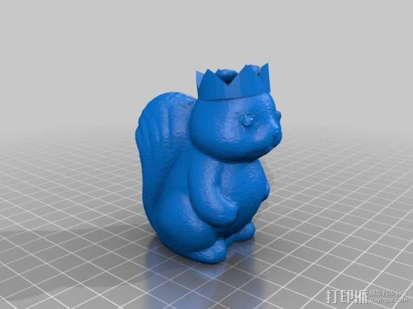 松鼠象棋 3D模型  图5