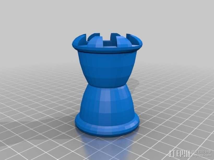 松鼠象棋 3D模型  图4