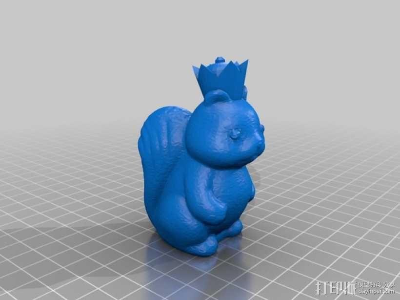 松鼠象棋 3D模型  图6