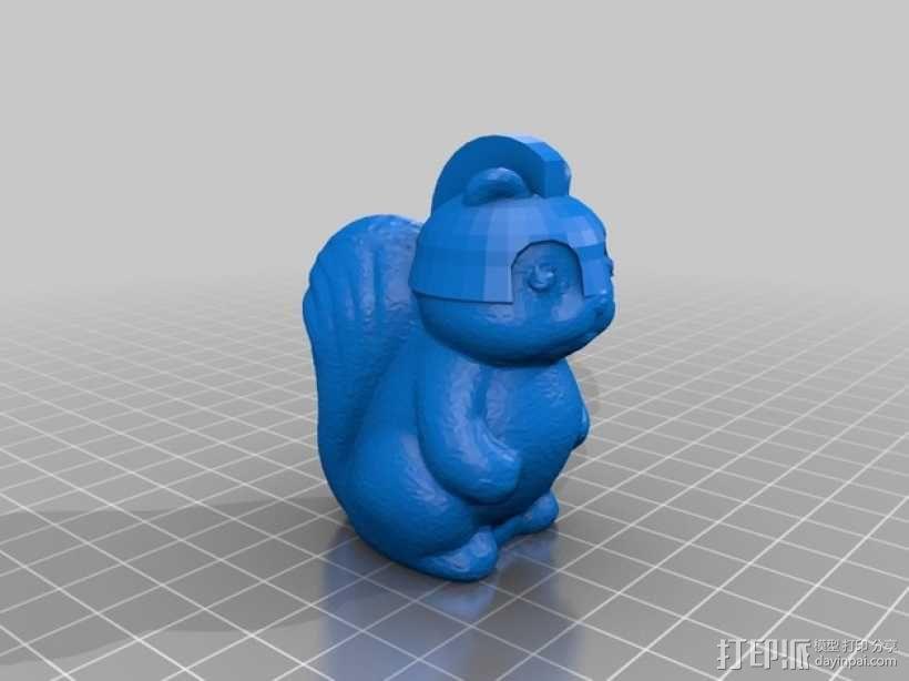 松鼠象棋 3D模型  图7