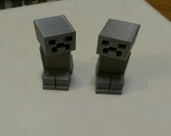 Minecraft:爬行者 3D模型  图3