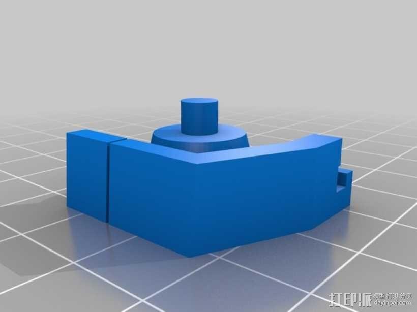 无畏战舰机器人 3D模型  图5