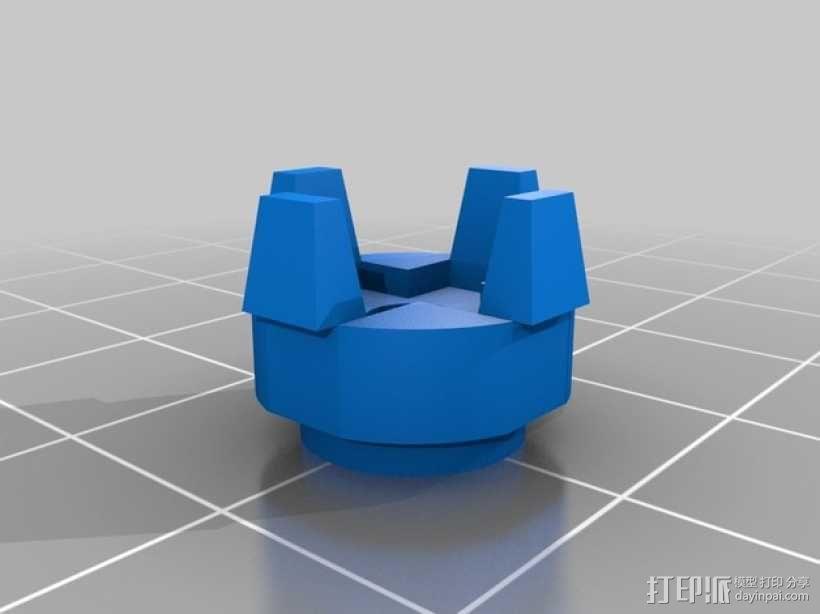 无畏战舰机器人 3D模型  图7