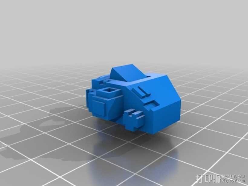 无畏战舰机器人 3D模型  图9