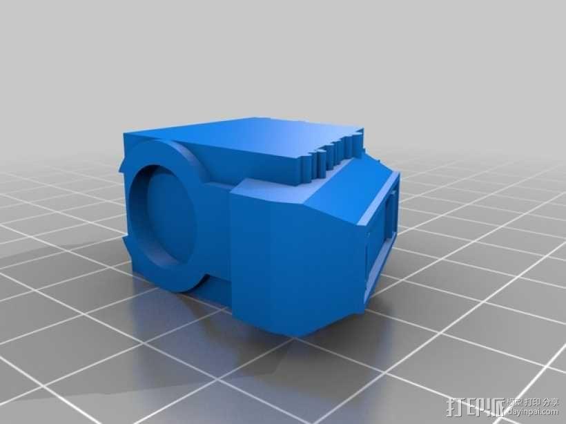 无畏战舰机器人 3D模型  图8