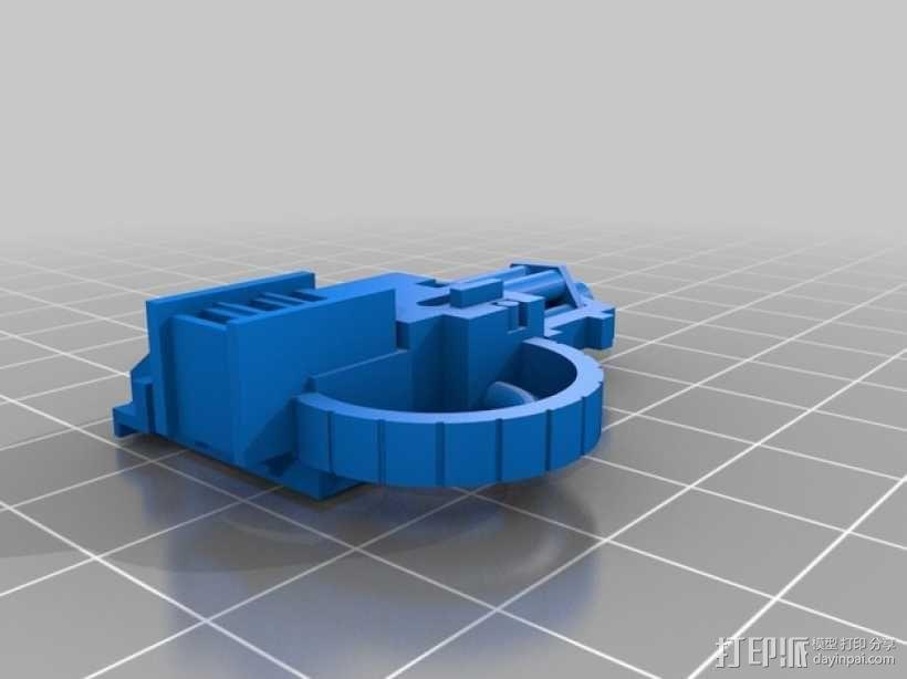 无畏战舰机器人 3D模型  图12