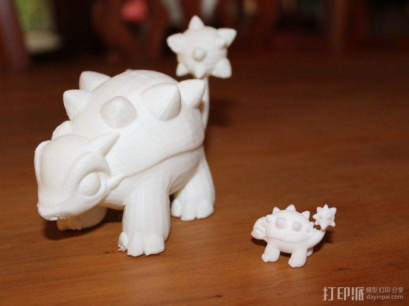 迷你包头龙模型 3D模型  图4