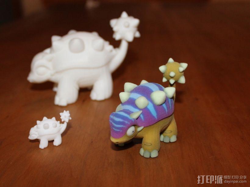 迷你包头龙模型 3D模型  图3