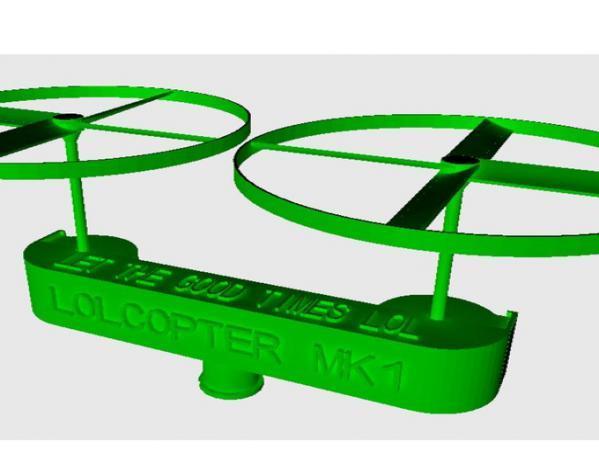 可定制化的lolcopter 1  3D模型  图10