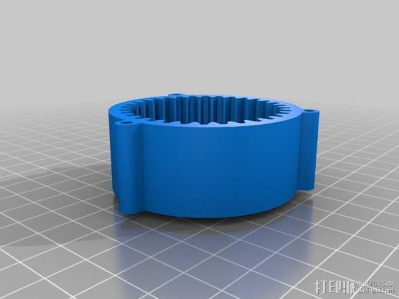 球形的行星齿轮模型 3D模型  图6