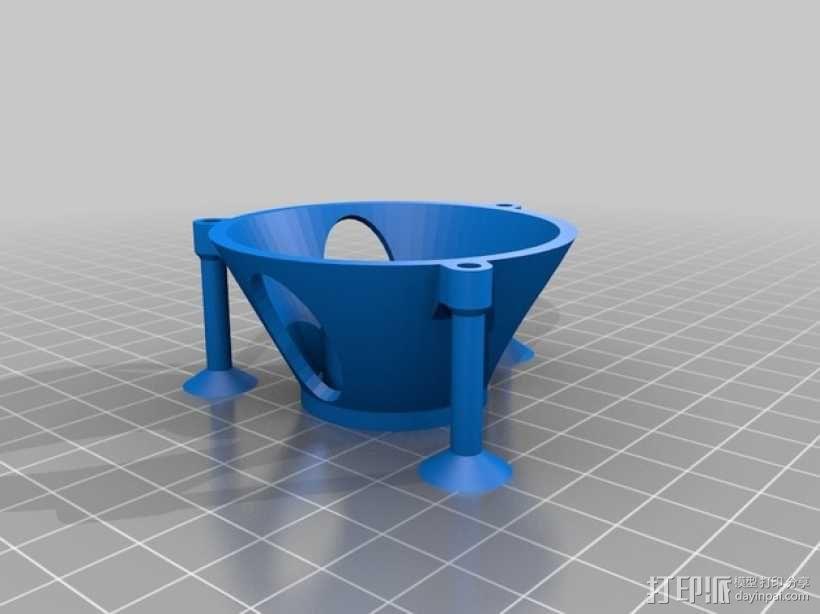 球形的行星齿轮模型 3D模型  图7