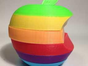 苹果标志 3D模型