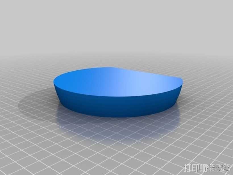 苹果标志 3D模型  图4