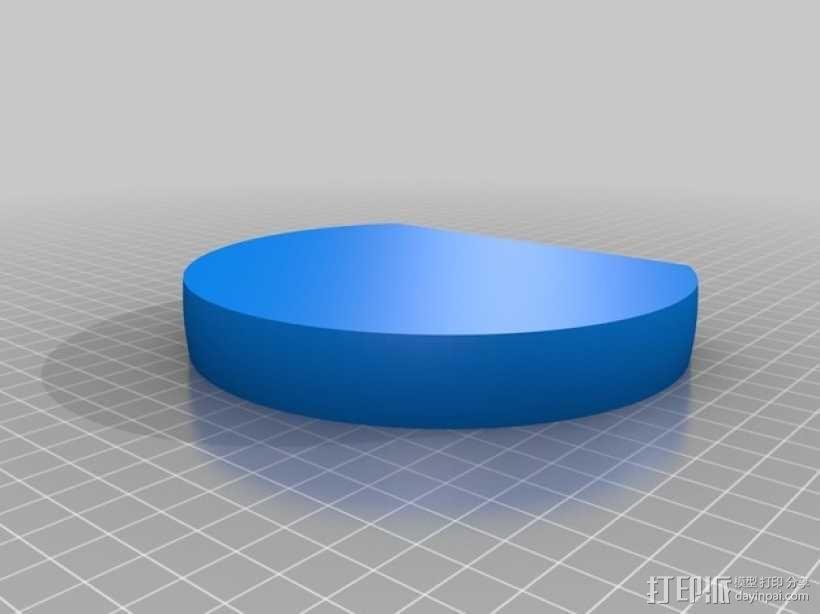 苹果标志 3D模型  图7