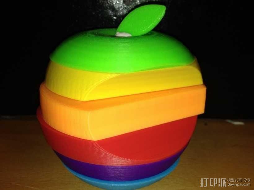 苹果标志 3D模型  图17