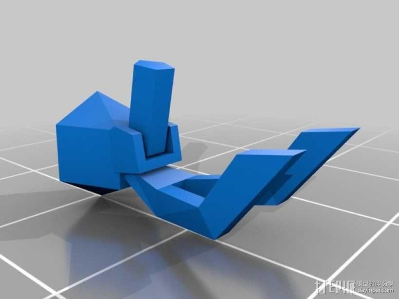 星际空间:Jarhead坦克车 3D模型  图6