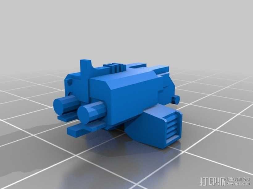 星际空间:Jarhead坦克车 3D模型  图8