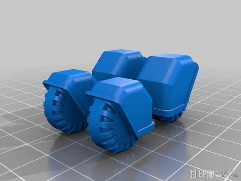 星际空间:Jarhead坦克车 3D模型  图9