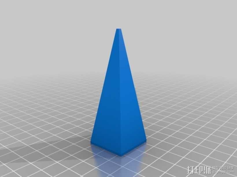 个性化象棋套件 3D模型  图4