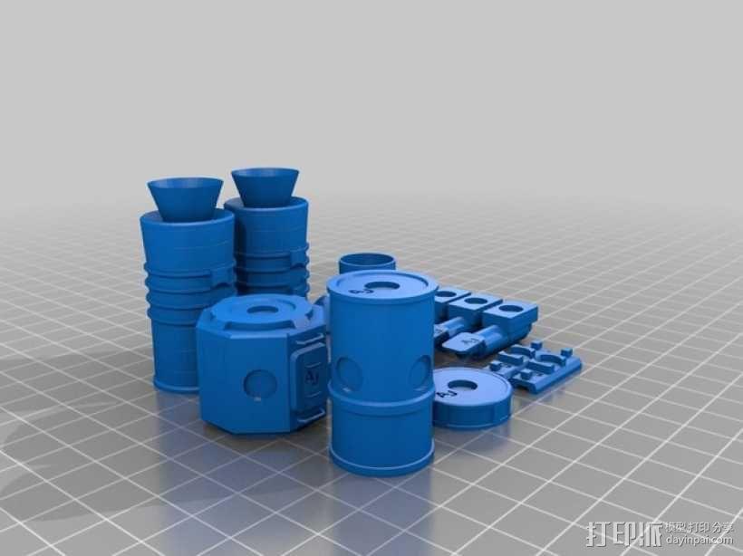 KSP磁力积木v1.04 3D模型  图1