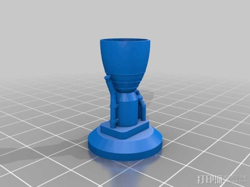 KSP磁力积木v1.04 3D模型  图2