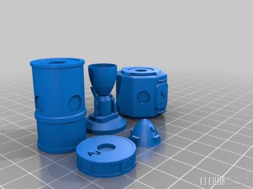KSP磁力积木v1.04 3D模型  图12