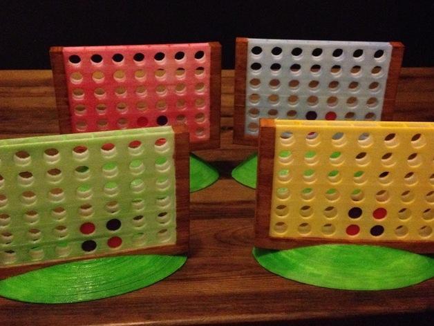 游戏Foursies 3D模型  图1