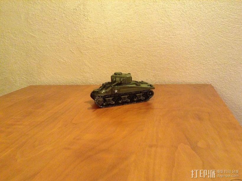谢尔曼坦克 3D模型  图7