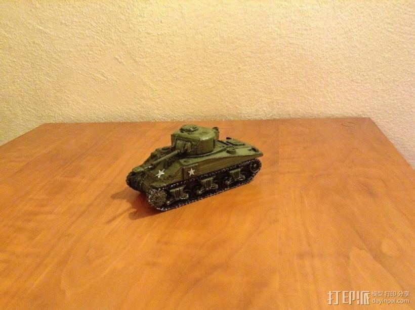 谢尔曼坦克 3D模型  图6