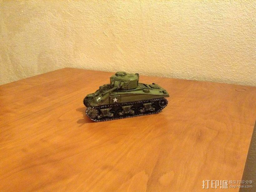 谢尔曼坦克 3D模型  图9