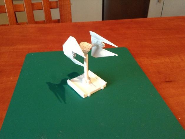 迷你游戏拦截机 3D模型  图2